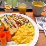 [簡食]台北市>大安區>多麼 Cafe+~一個人也能悠閒吃頓美味的早午餐