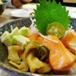 [簡食]台北市>大安區>和風食堂~樂利路CP值高新日式料理店,超新鮮的鮭魚生魚片擄獲我的心!